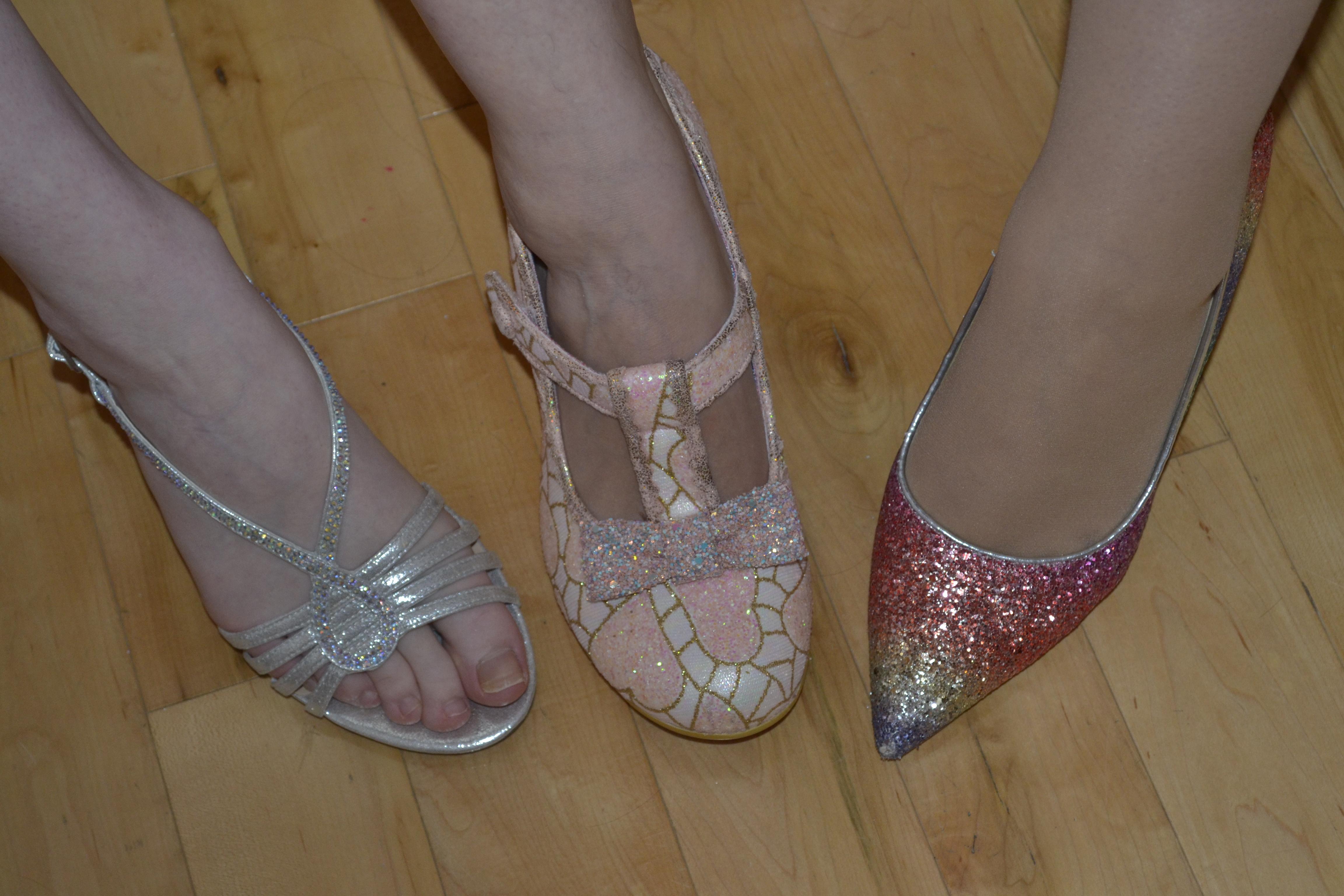 Bridesmaid Shoes budget wedding