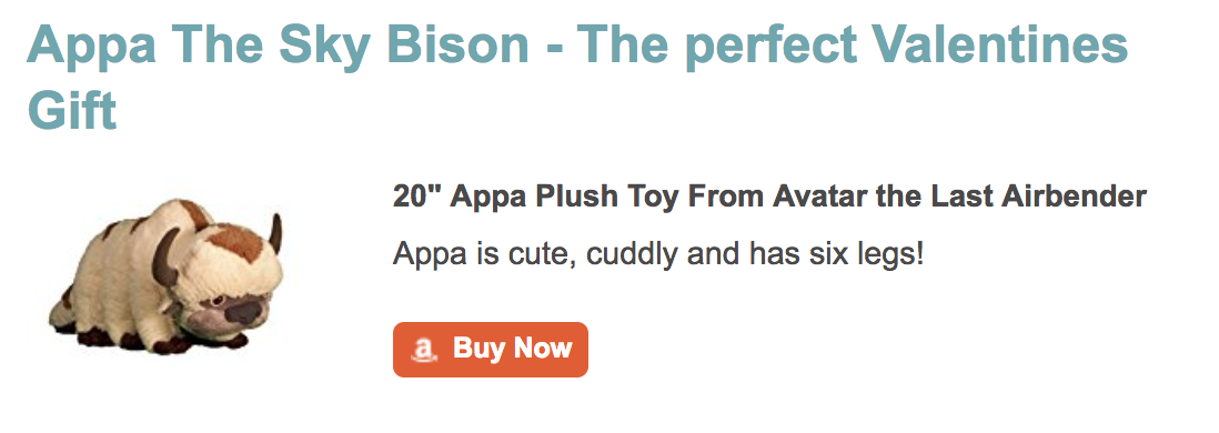 Appa Plush Sky Bison