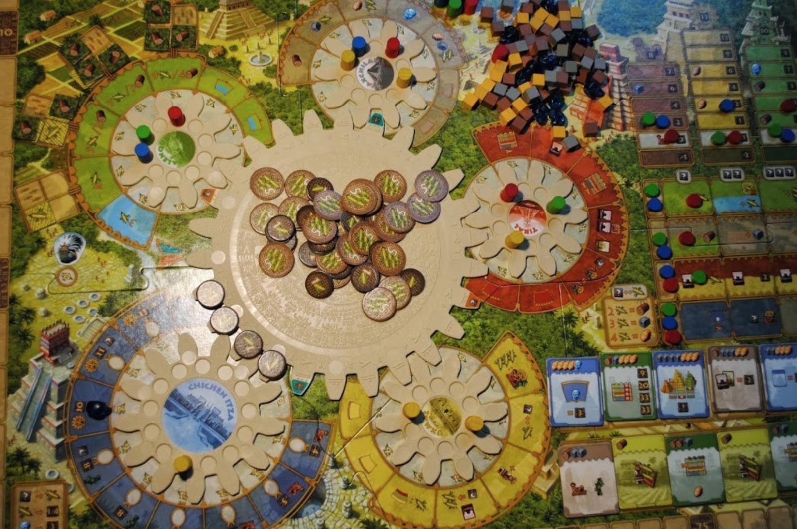 Tzolkin Mayan Calendar Board Game