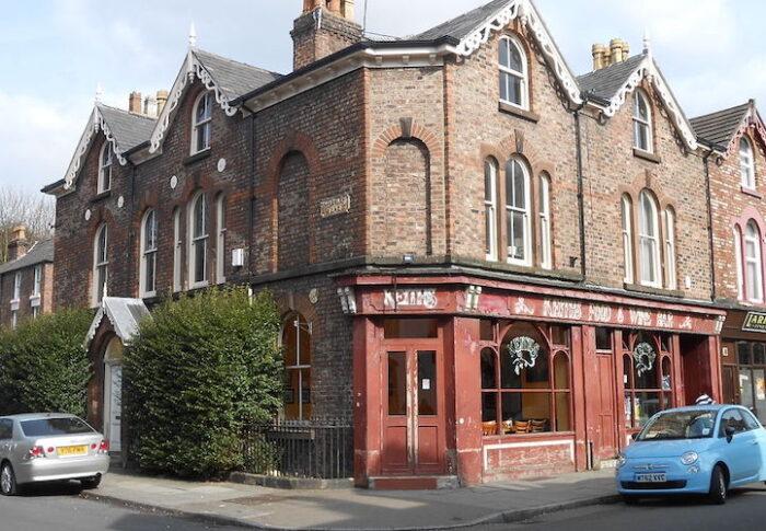Lark Lane Restaurants Liverpool